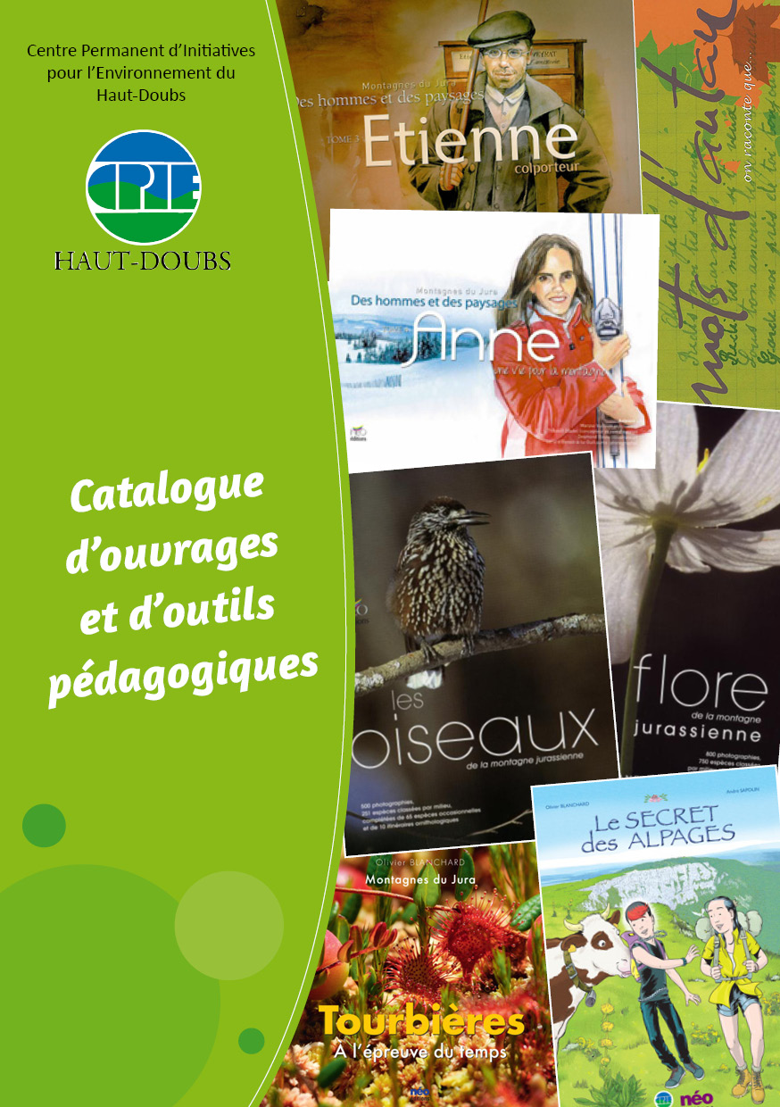 couverture catalogue édition