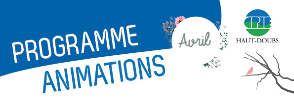 programmes animations avril